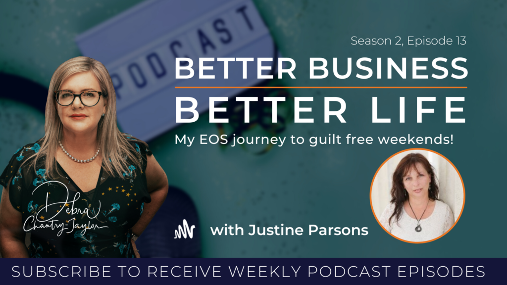 LOCKDOWN SPECIAL – guilt-free weekends with Justine Parsons – Season 2, Episode 13